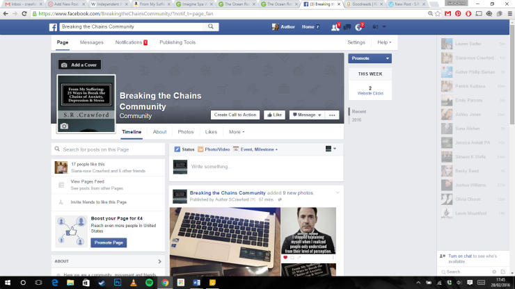 Facebook break the chains page.png